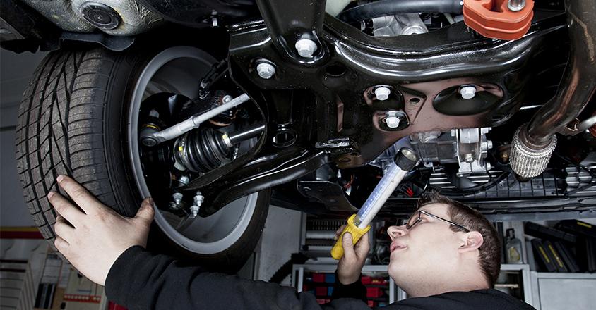 Your Car S Underbody Hides Away Brake Lines Fuel Lines Steering